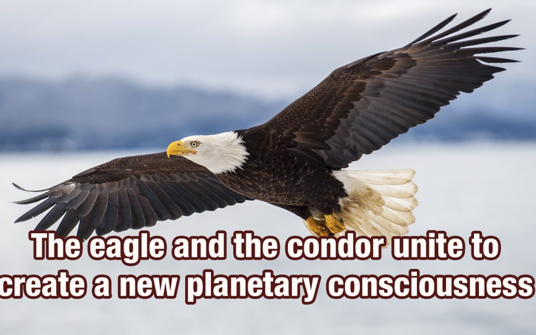 The eagle and the condor unite to create a new planetary consciousness